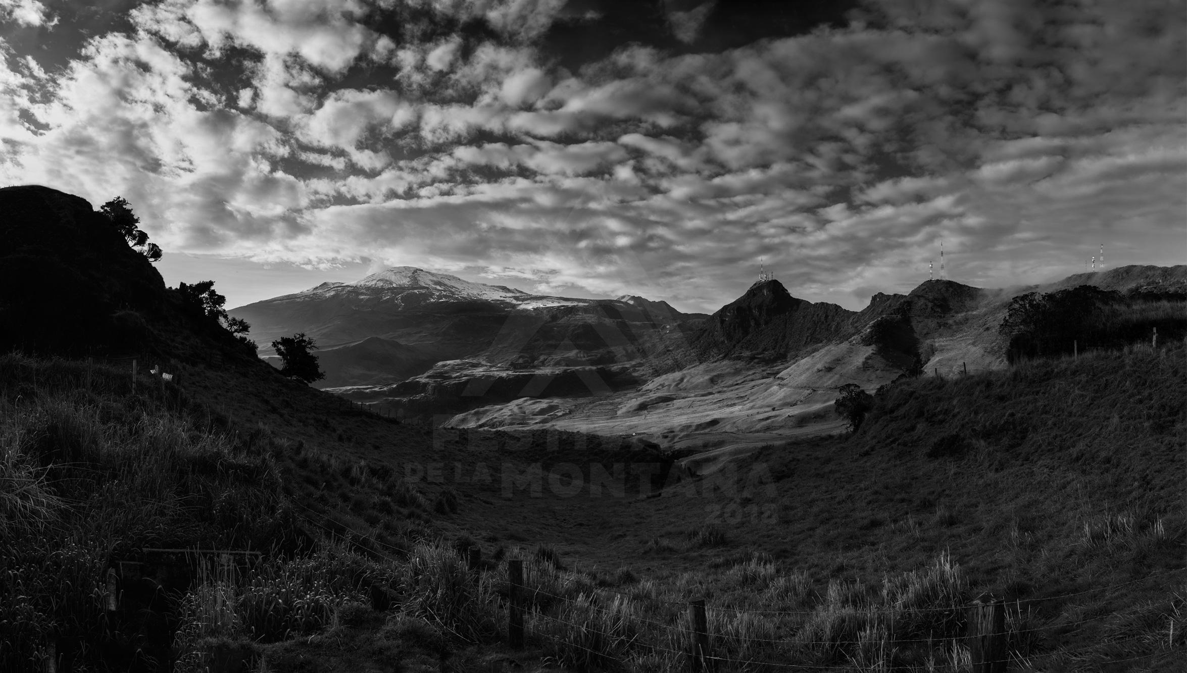 6. Diego Rivera – Una mirada al volcán Nevado del Ruíz