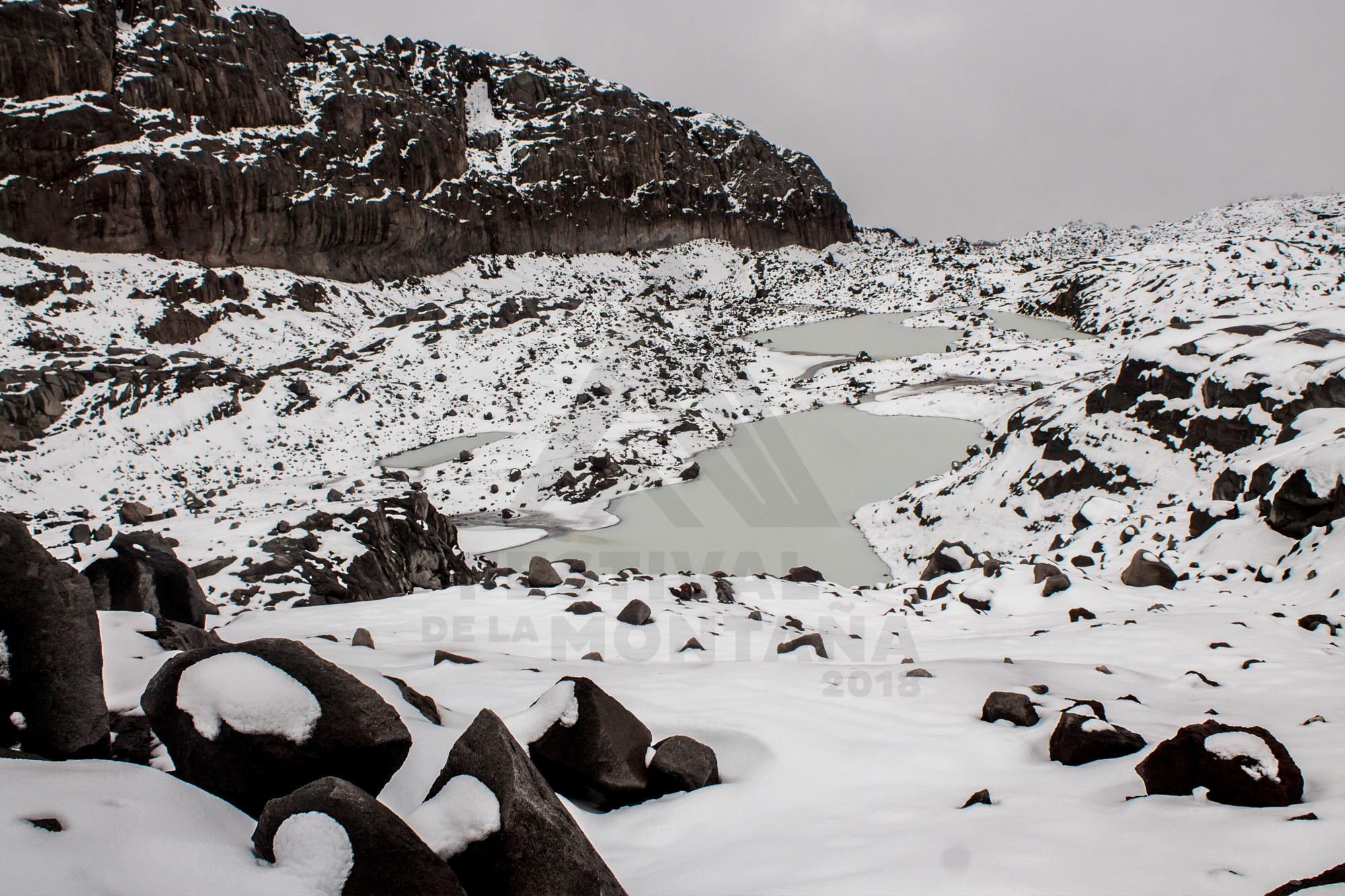 8. Yuly Plaza – Deshielo progresivo, nieve, agua y roca
